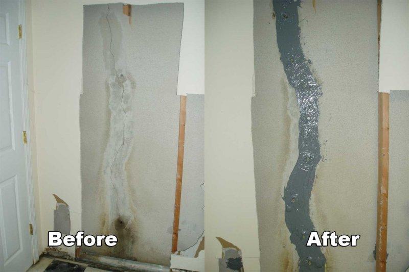 Awesome Basement Crack Repair Michigan Part - 4: Basement Crack Repair In Macomb County, MI