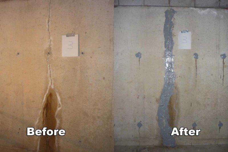 Delightful Basement Crack Repair Michigan Part - 10: Basement Crack Repair In Oakland County, MI