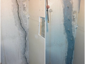 Basement Crack Repair in Oakland County, MI