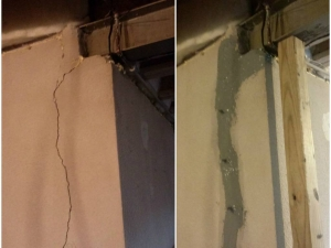 Basement Crack Repair in Macomb County, MI