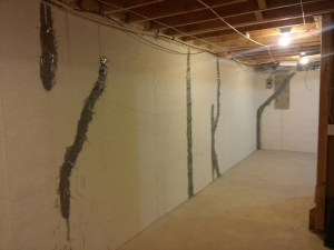 Basement Crack Repair in Wayne County, MI